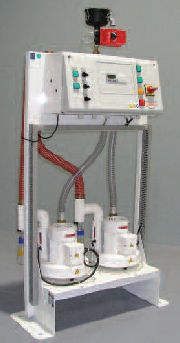 Scavenging system anesthetic gas ANAESTIVAC 1 , ANAESTIVAC 2 MIL'S