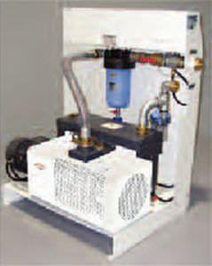 Medical vacuum system / rotary vane / lubricated SVI MIL'S