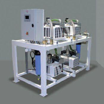 Medical vacuum system / rotary vane / lubricated HOSPIVAC® V4 / V5 / V6 MIL'S