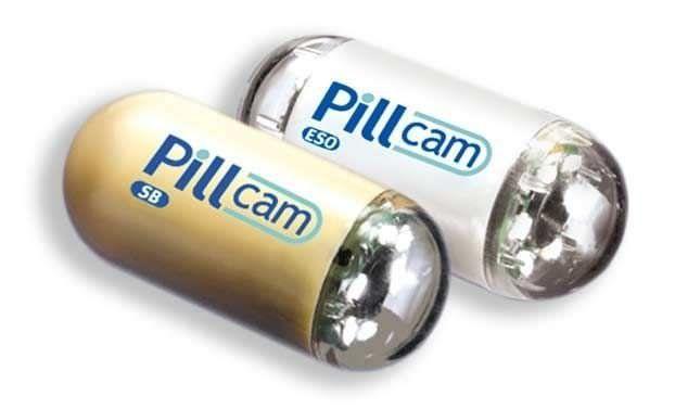 Digestive endoscopy endoscopy capsule PILLCAM SB Given Imaging