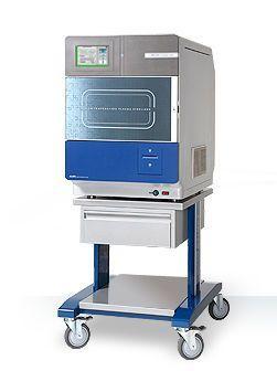 Medical sterilizer / hydrogen peroxyde / front-loading / low-temperature LOWTEM Crystal 50 LowTem