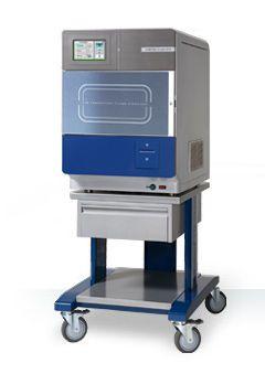 Medical sterilizer / hydrogen peroxyde / front-loading / low-temperature LOWTEM Crystal 40 LowTem