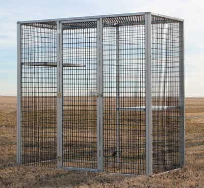 Animal enclosure W520 CD&E Enterprises