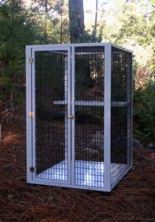 1-shelf veterinary cage S501A CD&E Enterprises