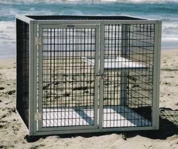 1-shelf veterinary cage S301 CD&E Enterprises