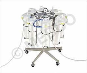 Jar stand for liposuction / wheeled Medco Manufacturing