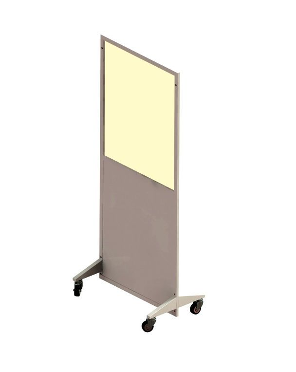 X-ray radiation protective shield / mobile / with window AMS - 076986 AMRAY Medical