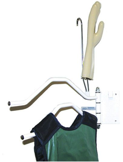 Wall-mounted X-ray glove rack 076947 AMRAY Medical