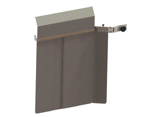 X-ray radiation protective screen / wall-mounted AMRAY Medical
