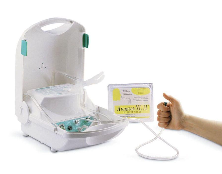 Pneumatic nebulizer / sound wave / with compressor 100 Hz | SONIQUE BOX Diffusion Technique Francaise