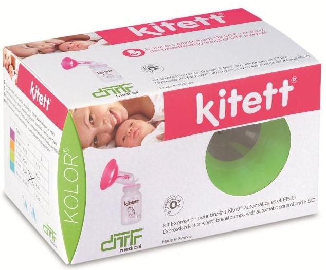 Breast pump collection kit Diffusion Technique Francaise