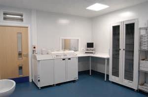 Sterilization room / modular ModuleCo