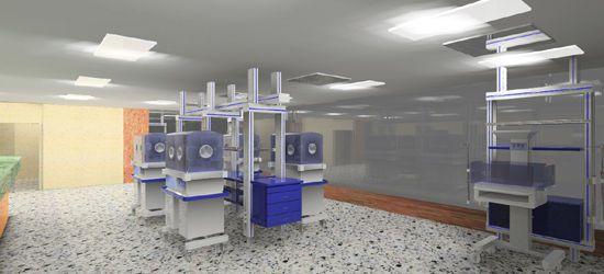 Neonatology room / modular Johnson Medical