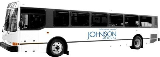 Mobile clinic bus Johnson Medical