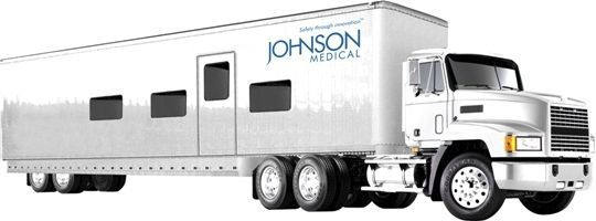 Mobile multipurpose digital radiography room Johnson Medical