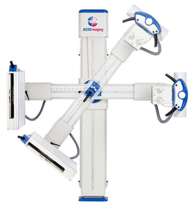 Radiography system (X-ray radiology) / digital / for multipurpose radiography / without table cSA 20/20 Imaging