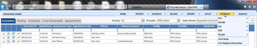 Patient data management software / podiatry PodPractice 20/20 Imaging