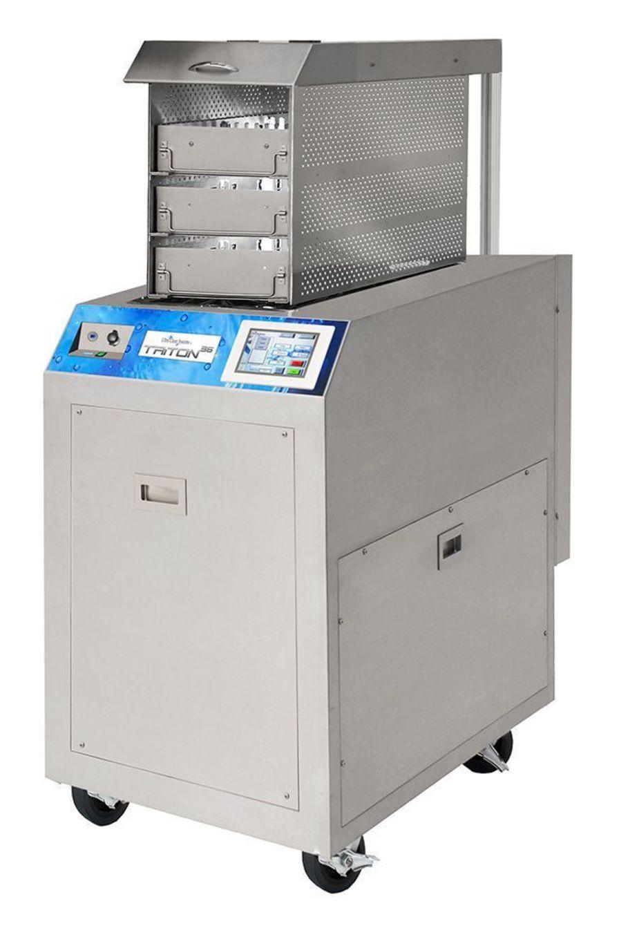Medical ultrasonic bath / high-capacity Triton 36 Ultra Clean Systems