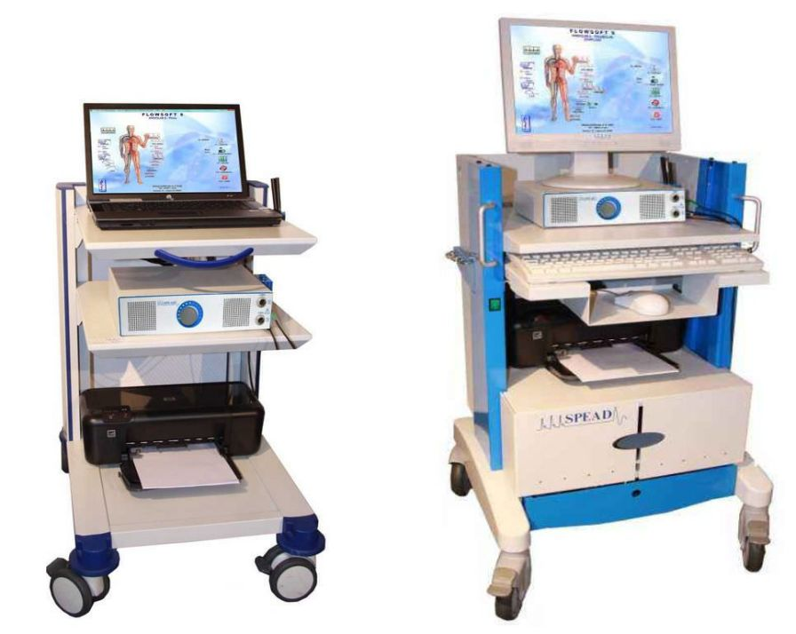 Vascular doppler platform / with ABI calculation / with plethysmograph ANGIOLAB Picco SPEAD Doppler-Systeme Vertriebs