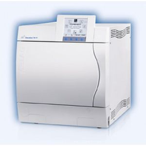 Medical autoclave / bench-top / with fractionated vacuum 18 l | Vacuklav 41-B Siltex