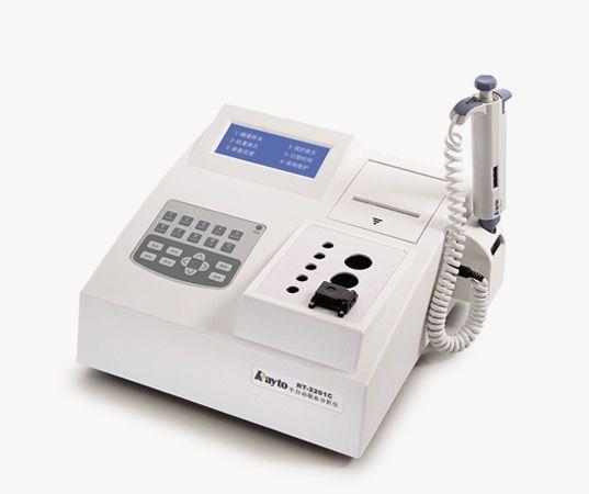 Semi-automatic coagulation analyzer / 1-channel RT-2201C Rayto Life and Analytical Sciences