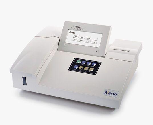 Semi-automatic biochemistry analyzer RT-1904C Rayto Life and Analytical Sciences