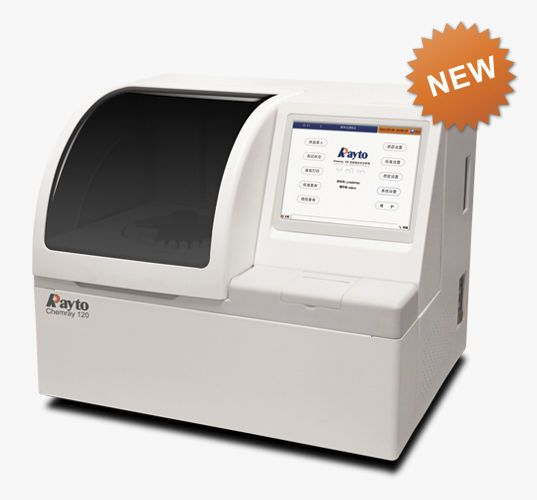 Automatic biochemistry analyzer / random access 100 tests/h | Chemray-120 Rayto Life and Analytical Sciences