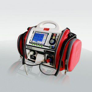 Semi-automatic external defibrillator / with ECG monitor RESCUE LIFE M4Medical