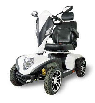 4-wheel electric scooter L4B Wu's Tech