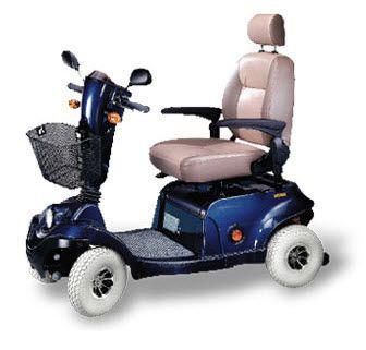 4-wheel electric scooter XL4HD Wu's Tech