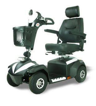 4-wheel electric scooter M4JH8 Wu's Tech