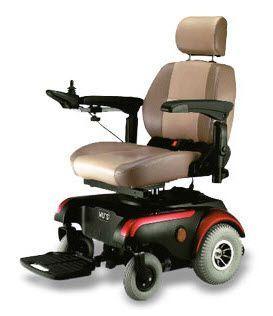 Electric wheelchair / exterior / interior MAMBO 319 Wu's Tech