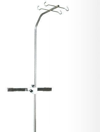Bed IV pole / with infusion pump bracket DZ Medicale
