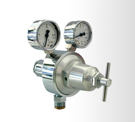 Medical gas double pressure regulator DZ Medicale