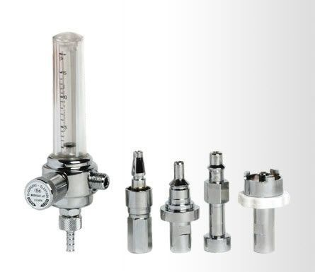 Oxygen flowmeter / variable-area / plug-in type DZ Medicale