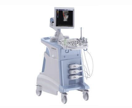 Ultrasound system / on platform / for cardiovascular ultrasound imaging ASU-3500 C series Shenzhen Anke High-Tech