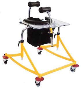 4-caster rollator / pediatric Youpi RUPIANI