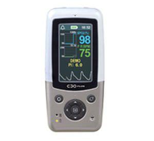 Handheld pulse oximeter / with separate sensor 0 - 100 % SpO2 | CX130 Charmcare