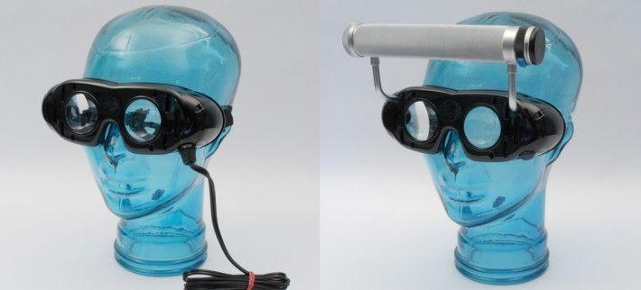 Frenzel's goggles vestibular disorder testing system Otopront - Happersberger Otopront