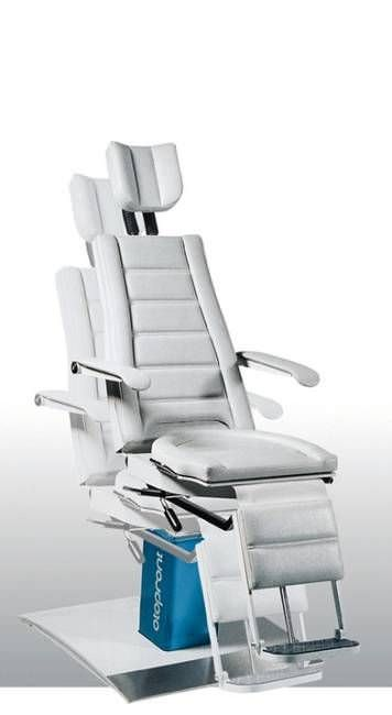ENT examination chair / electrical / height-adjustable / 3-section SIT 4 Otopront - Happersberger Otopront