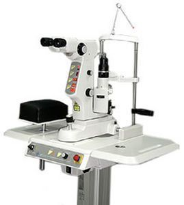 Posterior capsulotomy laser / ophthalmic / for membranectomy / Nd:YAG LPULSA SYL 9000 Optous