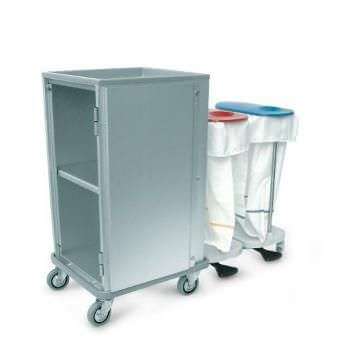 Service trolley / linen / with waste bag holder Doimo Mis srl