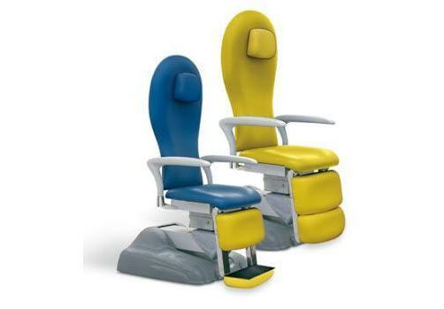 ENT examination chair / electrical / with legrest / 3-section Doimo Mis srl
