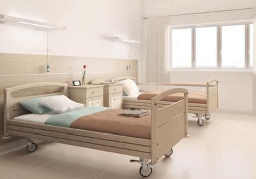 Hospital ward furniture set Tekna series Doimo Mis srl