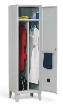 Locker room cabinet / for healthcare facilities / with hinged door / 1-door Doimo Mis srl