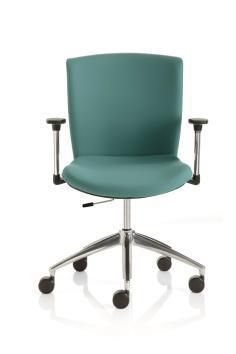 Office chair / with armrests / on casters / rotating Doimo Mis srl