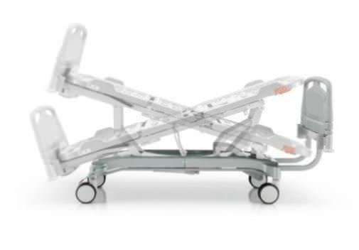Hospital bed / electrical / reverse Trendelenburg / Trendelenburg 300 series Doimo Mis srl