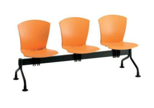 Waiting room seat / beam / with backrest / 3 seater Carina series Doimo Mis srl