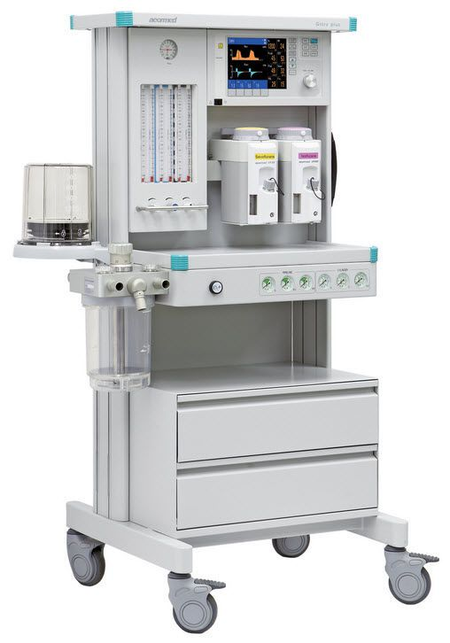 Anesthesia workstation with gas blender / 6-tube Glory plus Beijing Aeonmed