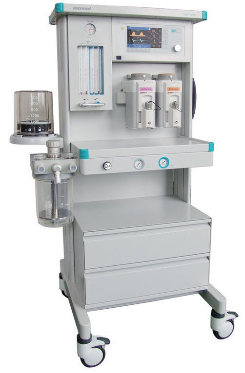 Anesthesia workstation with gas blender / 4-tube Aeon7200 Beijing Aeonmed